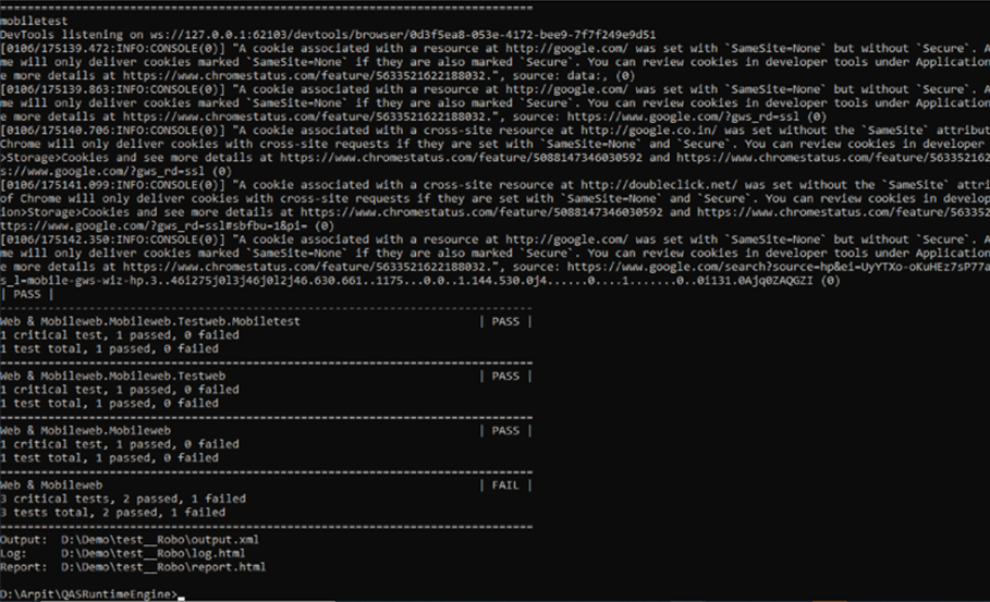 Command Line (CLI) Mode