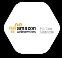 Amazon web services marquee logo