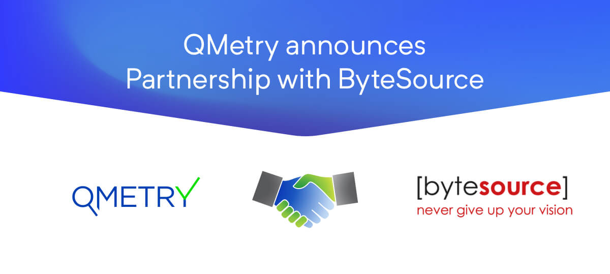 QMetry announces partnership with ByteSource Technology