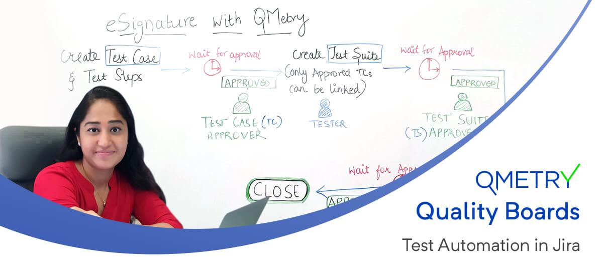 Banner eSignature with QMetry