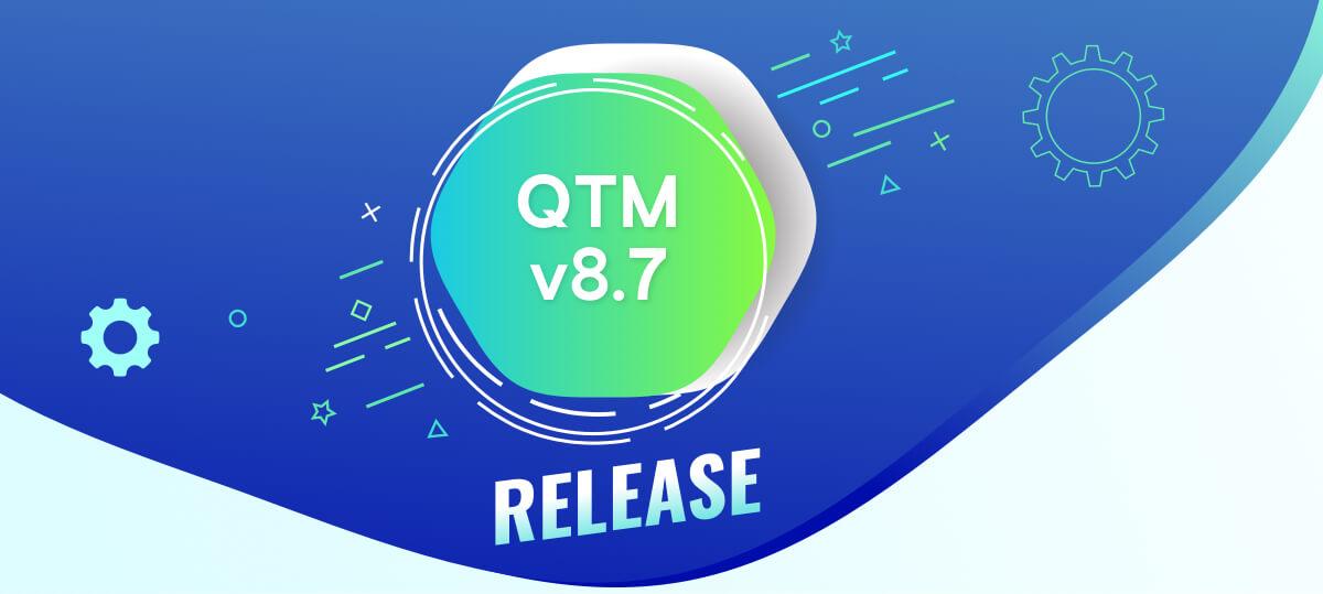 Banner QTM v8.7 Release