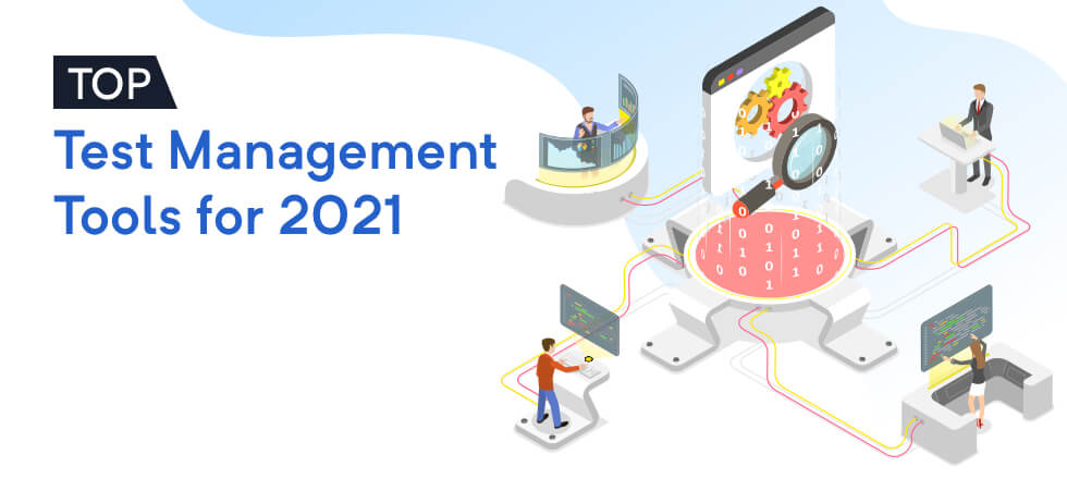 Banner Top Test Management Tools 2021